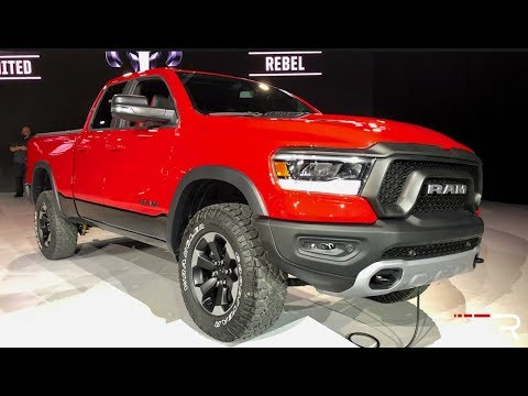 2019 Dodge Ram 1500 – Redline: First Look – 2018 NAIAS