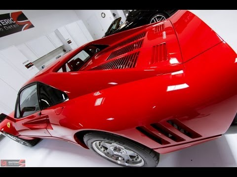 Ferrari 288 GTO by Esoteric Auto Detail and RUPES Bigfoot!
