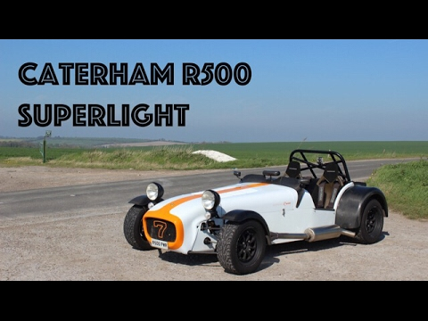 Crazy Caterham R500 Superlight! Start up, Exhaust, Acceleration, Review and more