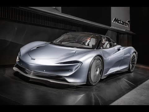 McLaren Speedtail- New Hyper-GT live from Geneva Motorshow 2019