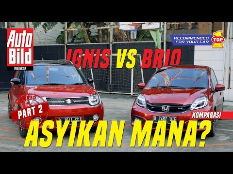 Suzuki Ignis GX vs Honda Brio RS | Komparasi | Auto Bild Indonesia Part 2