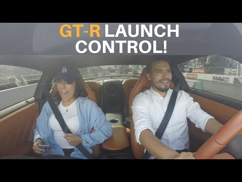 Nissan GTR and AMG GTS Launch Control Reactions! | Hilarious!