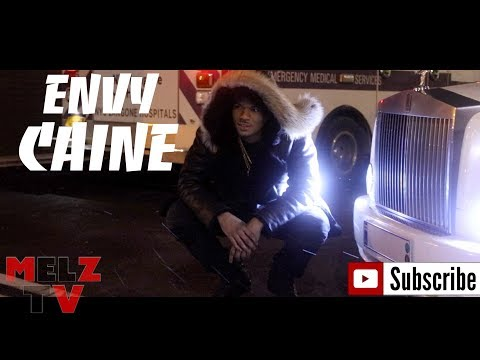 ENVY CAINE PULLS UP IN A ROLLS ROYCE & SAYS ITS NOT RENTED PLUS BTS OF HIS NEW VIDEO WITH KAPOMOB
