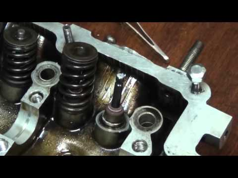 Ремонт ГБЦ Hyundai Accent .the restoration of the Hyundai Accent.Cylinder head