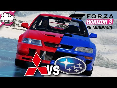 BLIZZARD MOUNTAIN - MITSUBISHI vs SUBARU - MULTIPLAYER - Let