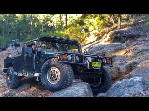 Hummer Offroading - H1 First 4x4 Test 40 inch Nitto Tyres