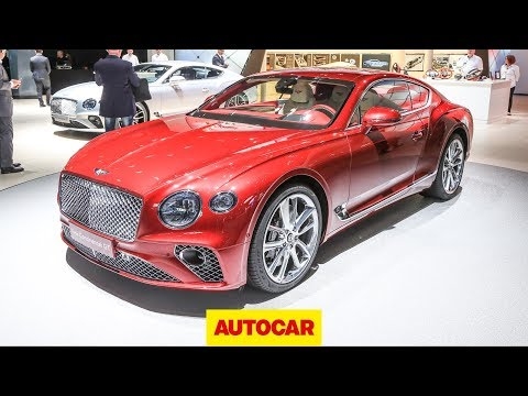 New Bentley Continental GT revealed | Frankfurt Motor Show 2017 | Autocar