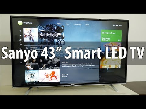 "Sanyo 43"" XT-43S8100FS LED Smart TV with IPS Panel Overview"
