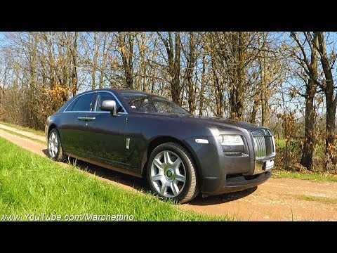 Rolls Royce Ghost: €285.000 of LUXURY! [Test Drive ] - Sub ENG