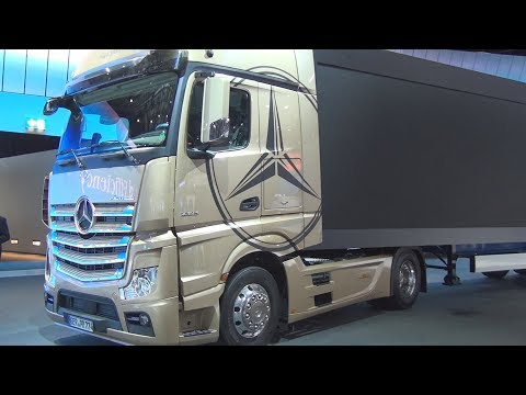 Mercedes Benz Actros 1863 LS GigaSpace Tractor Truck (2017) Exterior and Interior