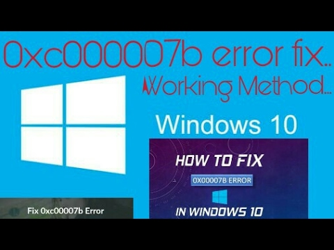 Fix Application Error-The application was unable to start correctly