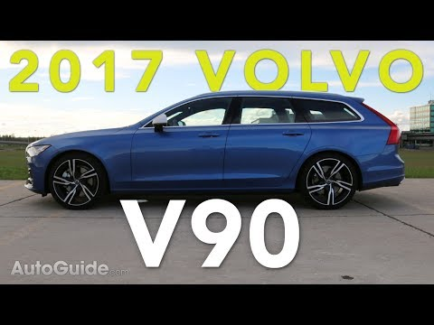 2017 Volvo V90 R-Design T6 AWD Review