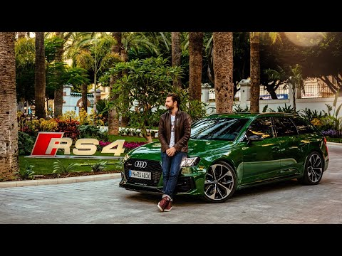 NEW Audi RS4 Avant 2018 - First Drive