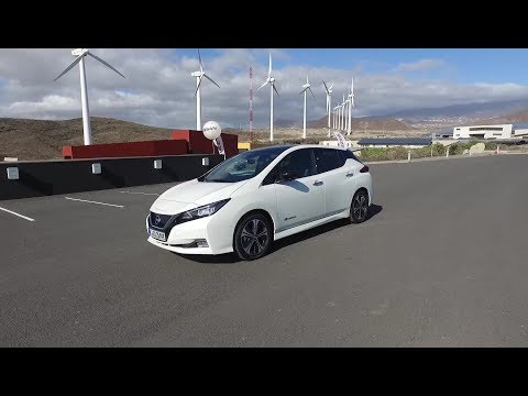 Nissan Leaf 40 kWh first drive