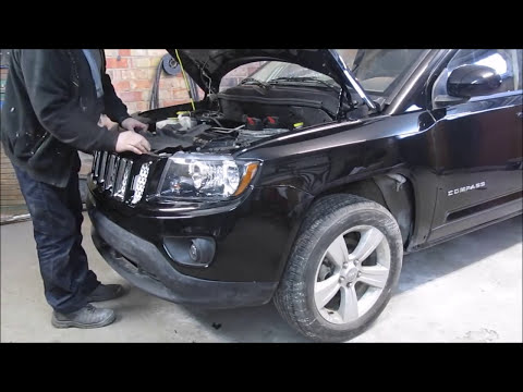 Jeep Compass. The body repair. Ремонт кузова.