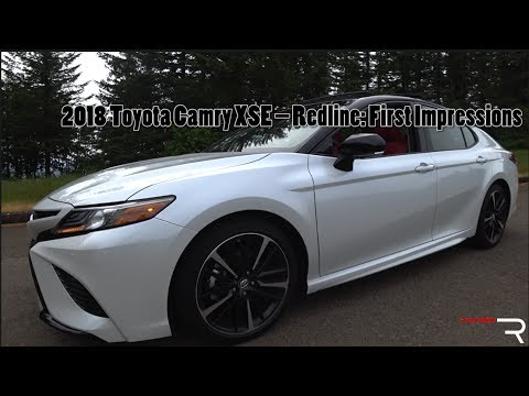 2018 Toyota Camry XSE – Redline: First Impressions