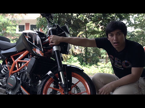 Review KTM Duke 250 Indonesia test ride by AutonetMagz