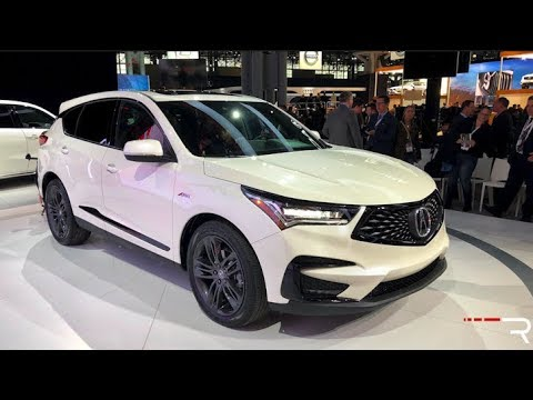 2019 Acura RDX A-Spec – Redline: First Look – 2018 NYIAS