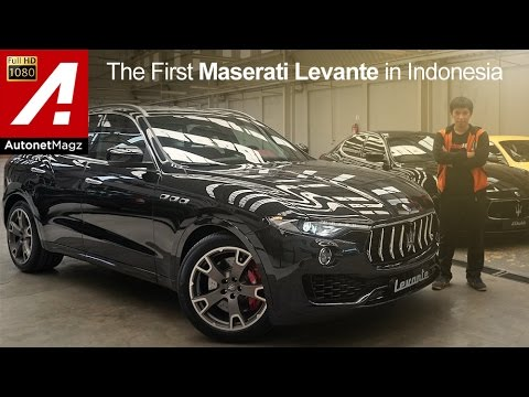 First impression review Maserati Levante Indonesia