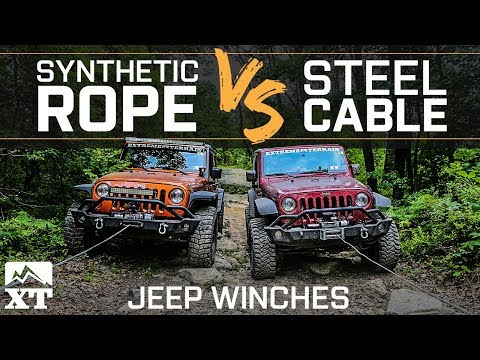 The Best Winch Line For Your Jeep Wrangler - Steel Cable vs Synthetic Line