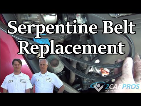 Serpentine Belt Replacement Acura TL 2004-2008