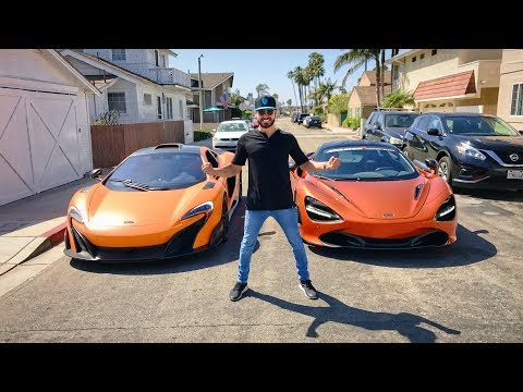 RACING MY MCLAREN 675LT VS THE 720S!