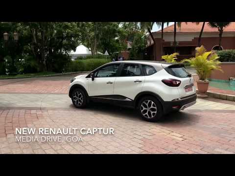 New Renault Captur for India - First Impressions (HD)