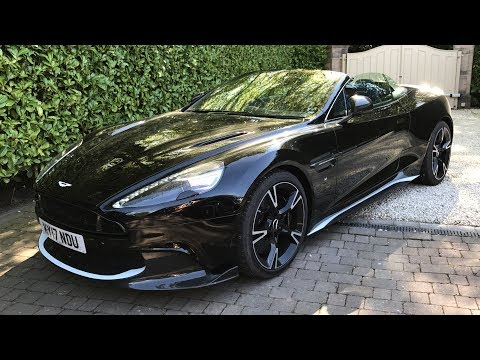Looking To Buy A Convertible | Aston Martin Vanquish S Volante