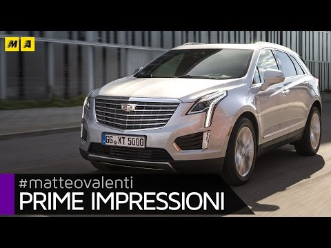 Cadillac XT5 | Primo test [ENGLISH SUB]