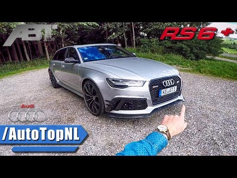 705HP Audi RS6+ ABT POV REVIEW on AUTOBAHN by AutoTopNL