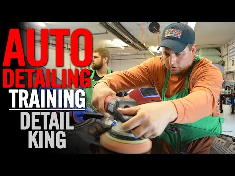 Auto Detailing Training January 2016 - Detail King