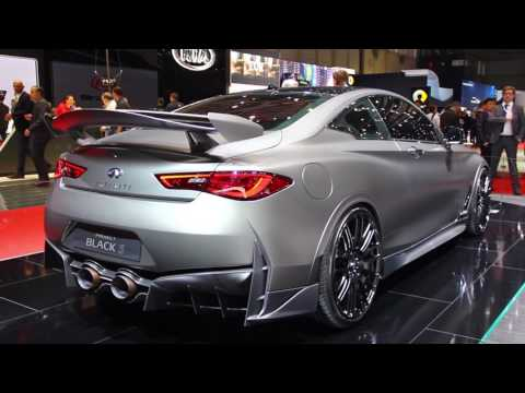 Infiniti Q60 Project Black S Concept First Look - 2017 Geneva Motor Show