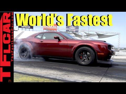 0-60 MPH in 2.3 Sec! How the Dodge Demon is The World