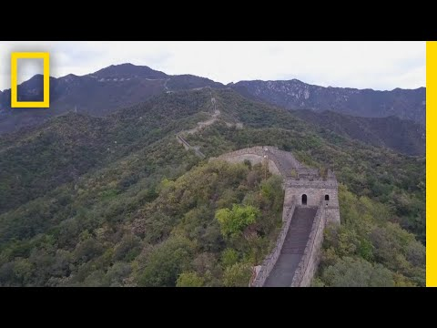 See China's Iconic Great Wall From Above   National Geographic