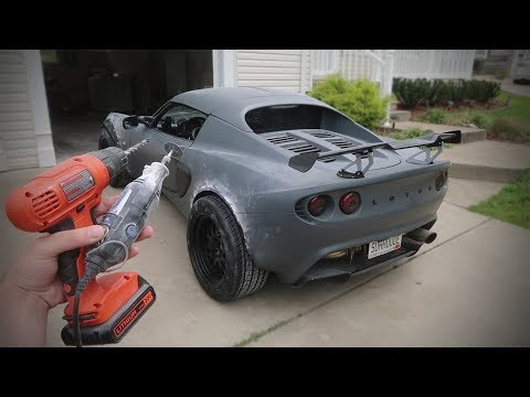 Cutting off a $17,000 PIECE of my LOTUS!