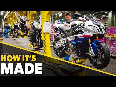 BMW S1000RR and BMW Bikes | Production Line - HOW IT