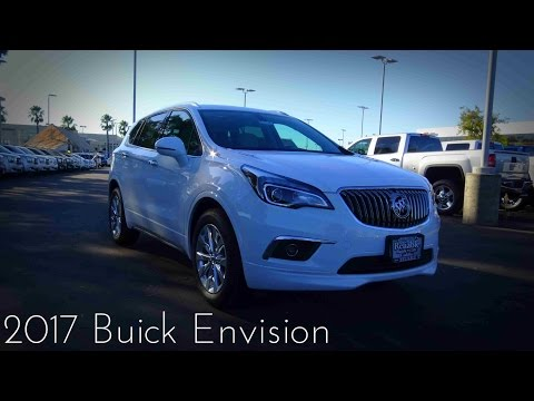 2017 Buick Envision 2.5 L 4-Cylinder Essence Road Test & Review