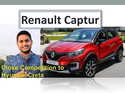 Renault Captur All Details, interiors, Power, Features in हिन्दी | Better than Hyundai Creta?
