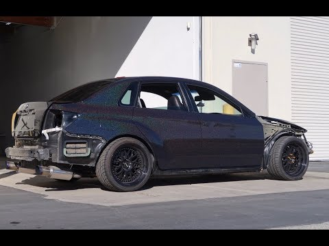Wrapping A 500+ Subaru Sti (Boosted On A GTR)