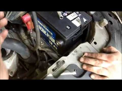 1999-2005 pontiac grand am/ oldsmobile alero battery replacement