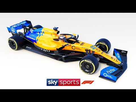 EXCLUSIVE: McLaren launch 2019 MCL-34 F1 car!