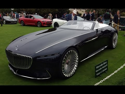 Vision Mercedes-Maybach 6 Cabriolet First Look - 2017 Monterey Car Week