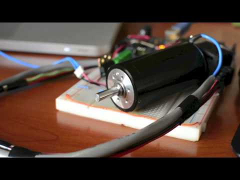 Labview Interfaced With Arduino Dc Motor Speed Control