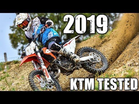 MOTOCROSS TESTED: 2019 KTM MX BIKES