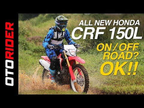 Honda CRF 150L First Ride Review Indonesia | OtoRider