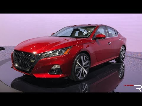 2019 Nissan Altima – Redline: First Look – 2018 NYIAS