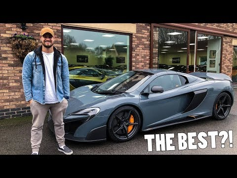 MY FIRST DRIVE IN THE BEST MCLAREN?!