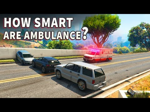 GTA V - How smart are Ambulance?