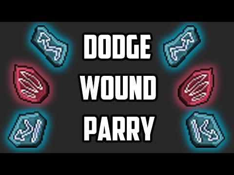 CHARMS: Dodge, Wound and Parry - Testing and Explanation