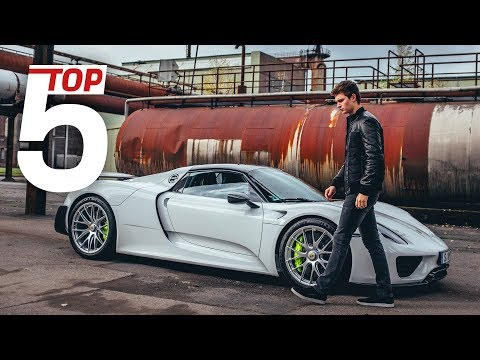 Porsche Top 5 –Most stunning features of the 918 Spyder with Ansel Elgort & Lars Kern